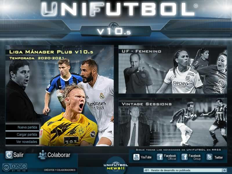 Portada de UNIFUTBOL® 1.0.9